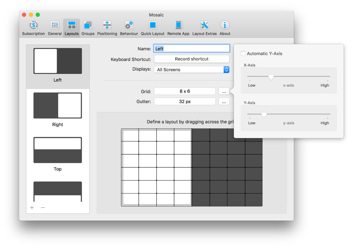 Mosaic Lighting Diagram Creator Mac Basic Layouts